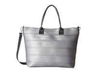 Harveys Seatbelt Bag Medium Streamline Tote Dove And White Dot Tote Handbags Silver