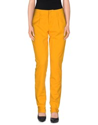 Maison Clochard Trousers Casual Trousers Women Ocher