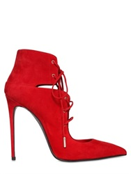Le Silla 110Mm Lace Up Suede Boots