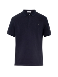 Valentino Stud Detail Cotton Polo Shirt