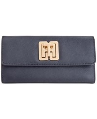 Tommy Hilfiger Th Turnlock Trifold Wallet Tommy Navy
