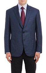 Brioni Silk Flannel Two Button Colleseo Sportcoat Blue