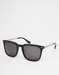 Vivienne Westwood Anglomania Sunglasses With Metal Arms Black