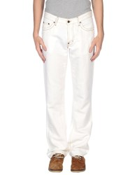 Boss Orange Trousers Casual Trousers Men Ivory