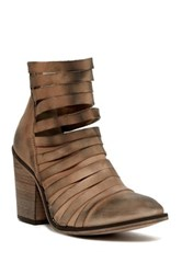 Free People Strappy Hybrid Bootie Brown