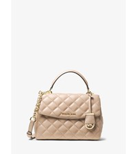 Ava Small Quilted Leather Satchel