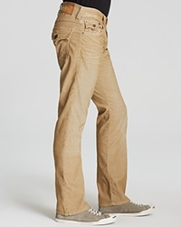 True Religion Jeans Ricky Relaxed Fit Cords Straw Khaki