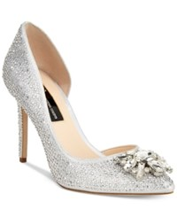 Inc International Concepts Kenjay D'orsay Evening Pumps Only At Macy's Women's Shoes Pearl Silver