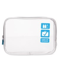 Flight 001 Tsa Approved Clear Carry On Quart Bag Blue