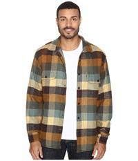 Woolrich Oxbow Bend Shirt Jacket Chicory Men's Coat Gray