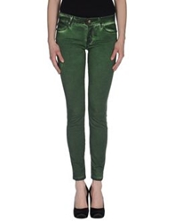 Plein Sud Jeans Casual Pants Green
