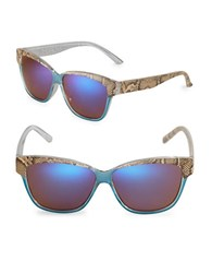 Sam Edelman 50Mm Wayfarer Sunglasses Blue