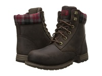 Caterpillar Kenzie Steel Toe Bark Merina Women's Work Lace Up Boots Brown