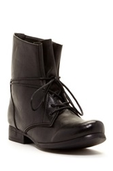 Godiva Combat Side Zip Boot Black