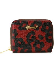 Muveil Snap Closure Wallet Red
