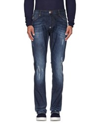 Philipp Plein Homme Denim Denim Trousers Men Blue