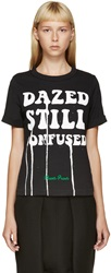 Off White Black 'Dazed And Still Confused' T Shirt