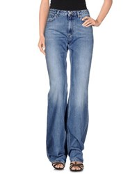 Acne Studios Denim Denim Trousers Women