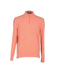Altea Knitwear Turtlenecks Men Salmon Pink