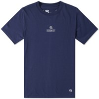 Denim By Vanquish And Fragment Mini Chest Logo Tee Blue