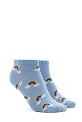 Forever 21 Rainbow Print Ankle Socks