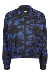 Ivy Park Camo Bomber By Navy Blue