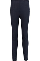 Alexander Wang Stretch Cotton Blend Terry Skinny Pants