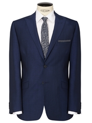 Daniel Hechter Tonic Tailored Suit Jacket Bright Indigo