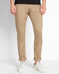 Carhartt Sand Wash Vicious Lamar Stretch Fit Tapered Jeans Beige