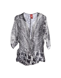 Michelle Windheuser Blouses Light Grey