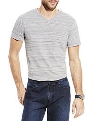 Vince Camuto Marled T Shirt Frost Grey