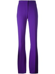 Victoria Beckham Tailored Trousers Pink And Purple