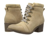 Billabong Outer Limits Dune Women's Lace Up Boots Taupe