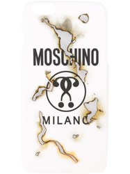Moschino Question Mark Iphone 6 Plus Case White