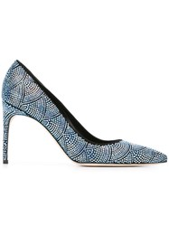 Brian Atwood 'Alis' Pumps Blue