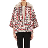 Tomorrowland Women's Tweed Jacket Red