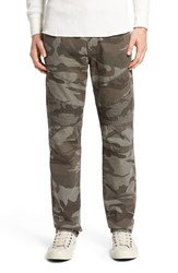 True Religion Men's Brand Jeans 'Geno' Slim Fit Camo Print Moto Pants