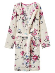 Joules Rita Dressing Gown Porcelain Floral