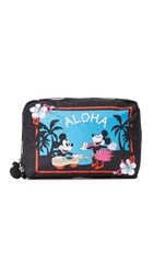 Le Sport Sac Disney X Lesportsac Xl Rectangular Cosmetic Case Aloha Holiday