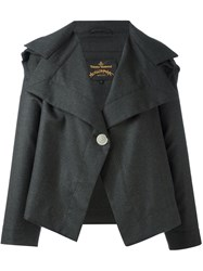 Vivienne Westwood Anglomania One Button Jacket Green