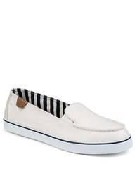 Sperry Zuma Ivory Canvas Sneakers White