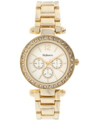 Styleandco. Style And Co. Women's Gold Tone Bracelet Watch 33Mm Sy035g