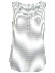 Fat Face Caitlyn Stripe Camisole Top Ivory