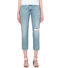 Mih Jeans Jeanne Straight High Rise Jeans Whiptail