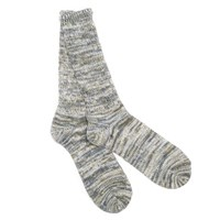 Anonymous Ism Light Grey 5 Colour Mix Crew Socks