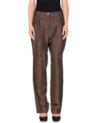 Derek Lam Casual Pants Dark Brown