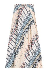 Etro Printed Maxi Skirt Multicolor
