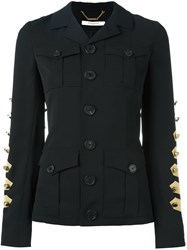 Givenchy Military Jacket Black