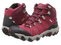 Oboz Bridger Bdry Rio Red Women's Hiking Boots