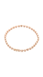 Gabriela Artigas Soft Ball Chain Ring Rose Gold